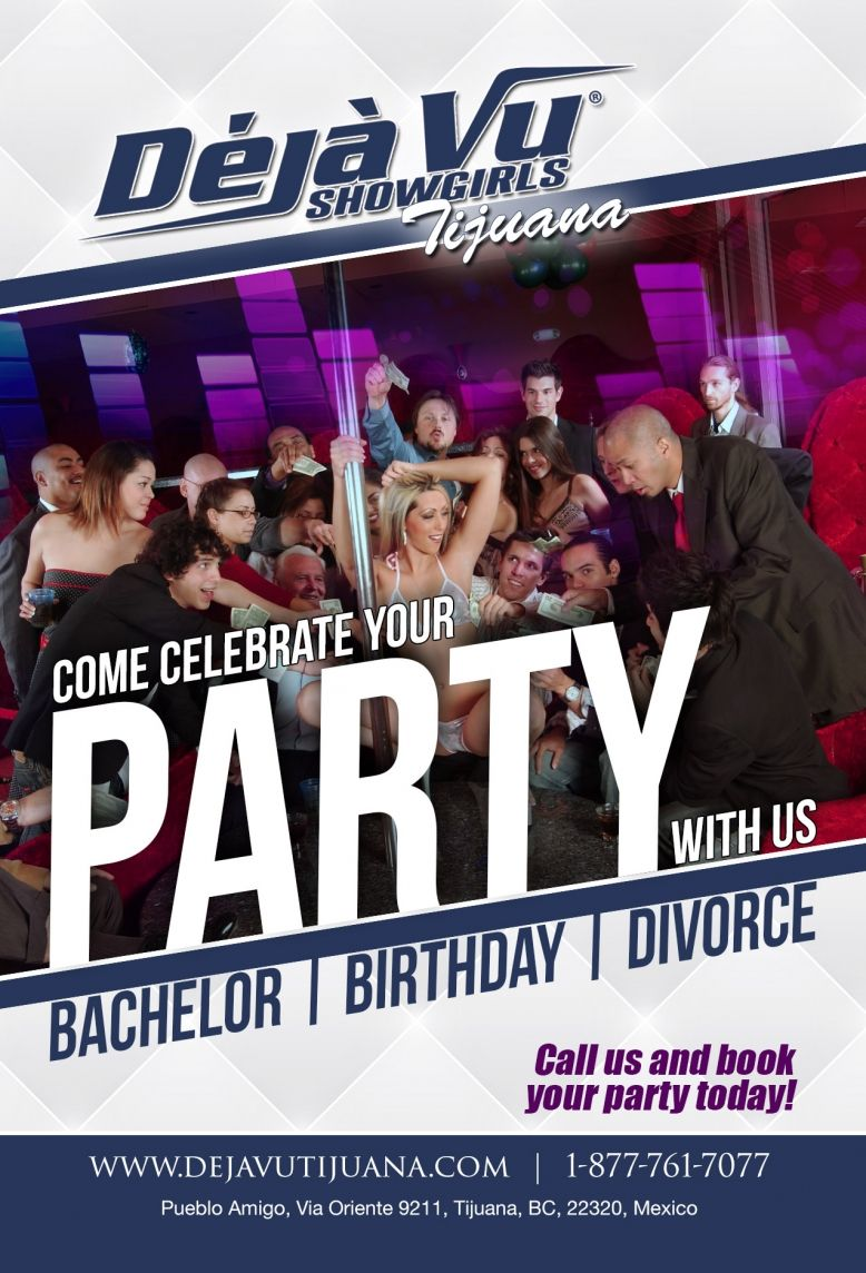 Party with us: Bachelor, Birthday, Divorce...
